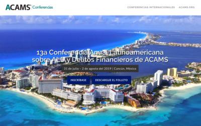 La 13ª Conferencia Anual Latinoamericana sobre ALD y Delitos Financieros de ACAMS